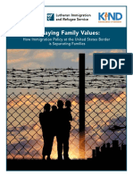 Betraying Family Values report
