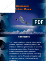 Operations Golden Rules