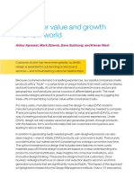 Design for Value and Growth in a New World