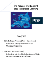 Bologna process and CLIL(VM).ppt