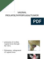 Lectue 16 Vaginal Prolapse