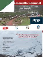 Plan de Trabajo Comunidad de Chilca