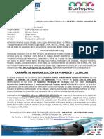 OFICIO Jornada de Regularización
