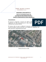 Memoria de Excavaciones - Edificio Multifamiliar