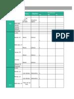Modelo de Calendario Editorial