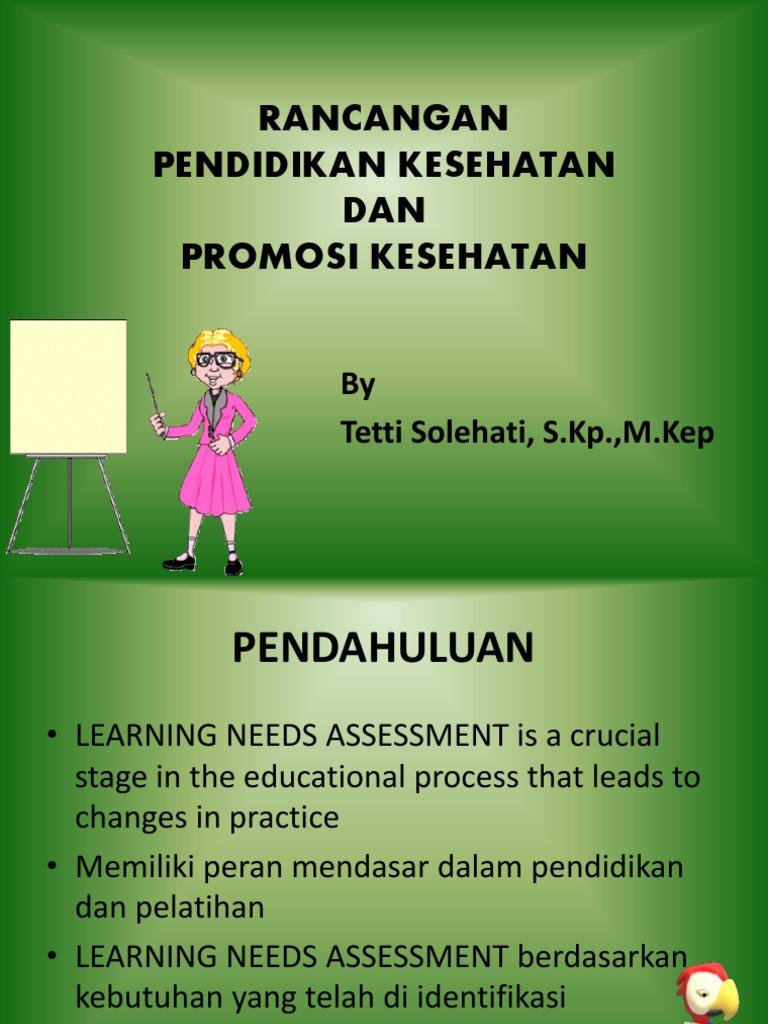 Rancangan Pendidikan Kesehatan Dan Promosi Kesehatan Pdf
