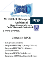 HIDROGEOQUIMICA AMBIENTAL