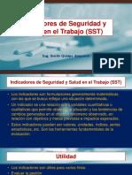 Presentacion N° 13 Indicadores de Seguridad y Salud en el Trabajo