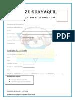 Formulario Shihtzu Guayaquil
