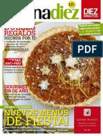 Cocina Diez - Nuevos Menus de Fiesta