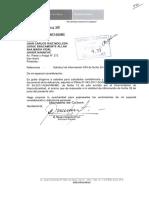 Rpta de MINCU a Pedido de Información sobre participación en Arboleda