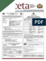 Gaceta Oficial para 20-10-2017
