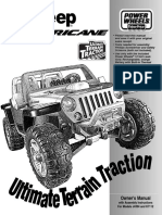 Power wheels - Jeep Huricane.pdf