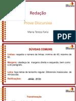 Slides Rf2015 Analista Provadiscursiva Mariatereza