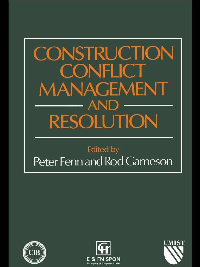 construction conflict resolution alternative dispute resolution mediation