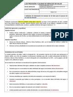 Modelo Del Informe Tecnico