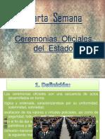 4. Ceremonias Oficiales