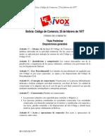 DL14379 - Codigo de Comercio
