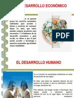 Diferencia Entre Desarrollo Humano y Economico - Mersy