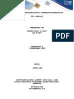 Etapa 3 Fundamentacion Cientifica y Ponencia Argumentativa de La Unidad 2