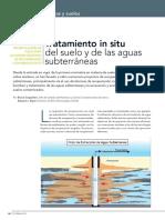 Tratamiento in Situ Del Suelo y de Las Aguas Subterraneas
