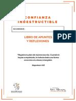 1 Confianza Indestructible Libro de Apuntes y Reflexiones