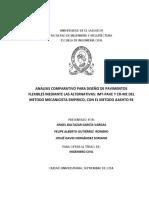 Análisis comparativo para diseño de pavimentos flexibles mediante las alternativas IMT PAVE y CR ME del método mecanicista empírico%2C con el método AASHTO 93.pdf