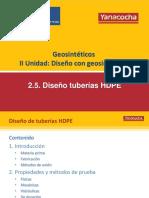 2.5 Diseño Con Tuberías HDPE