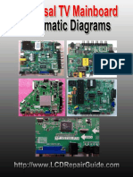 Universal TV Mainboard Schematic Diagrams