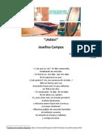 """""""¡Adiós!"""", de Josefina Campos"""