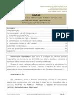 Aula 00 - Análise, Compreensão e Interpretação de Textor Verbais e Nao Verbais, Literários e Não Literários.