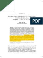 1El Sendero de La Institucionalidad Cultural Chilena. Cambios y Continuidades - Cea