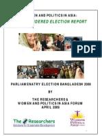 Bangladesh Election Report