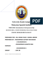 Business Idea Format