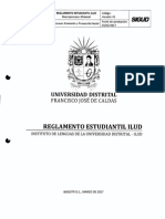 Reglamento Estudiantil ILUD