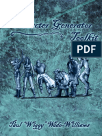 Savage Worlds Fantasy Character Generator Toolkit