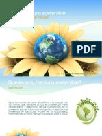 Arquitectura sostenible presentacion