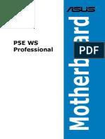Manual Placa Base Asus P5E WS Professional