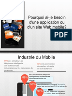 Pourquoi Ai Je Besoin d'Une Application Ou d'Un Site Web Mobile