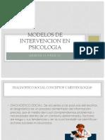 Modelos de Intervencion en Psicologia Presentacion 2