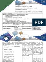 Guía de Actividades y Rúbrica de Evaluación - Unidades 1 y 2 - Fase 5 - Presentar Un Informe Final Del Proceso Realizado