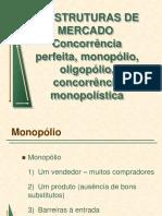 6. Estruturas de Mercado - i