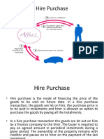Hire Puchase