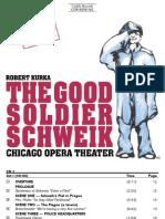 The Good Soldier Schweik Booklet