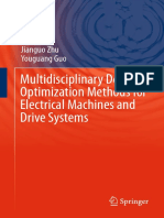Multidisciplinary Design Optimization Methods for Electrical Machines and Drive Systems - Lei ;Zhu; Guo