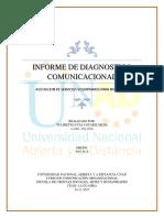 DIAGNOSTICO COMUNICACIONAL