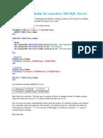 N Devant Une Chaîne de Caractère, MS SQL Server