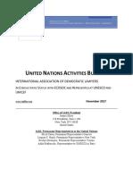 IADL UN Bulletin November 19, 2017