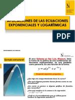 Ecuaciones Exponenciales y Logaritmicas- Explicacion