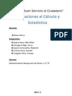 Aplicaciones Al Cálculo y Estadística